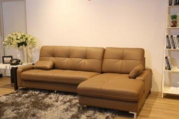 Sofa L bằng da – Lựa chọn mới cho các văn phòng và gia đình