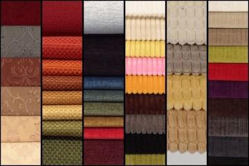 Đặc tính của một số loại vải dùng trong bọc ghế sofa