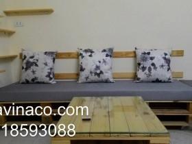 Ghế pallet tự đóng ưu điểm của ghế pallet và làm đệm ghế pallet