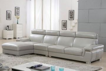Lý do vì sao nên chọn ghế sofa bọc da thật cho phòng khách