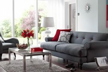 Sofa vải – Combo tiện lợi, gọn gàng và dễ di chuyển