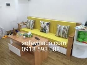 Làm đệm ngồi cho các loại ghế sofa gỗ – Làm đệm ghế gỗ
