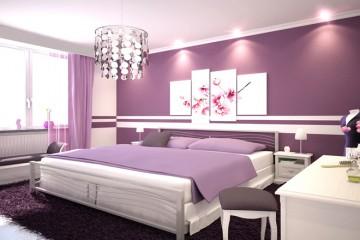Phòng ngủ lãng mạn hơn nhờ sự trang trí đúng cách