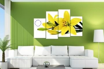 Tạo điểm nhấn cho phòng khách bằng một số trang trí sắc màu
