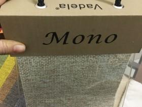 Mẫu vải thô Mono
