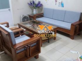 Tổng hợp một số công trình làm đệm ghế trước Tết của Vinaco
