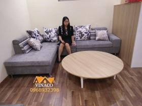 Bộ ghế sofa đóng mới tại Nguyễn Văn Huyên