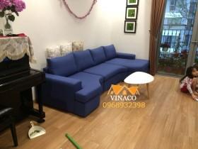 Thay vỏ bọc ghế sofa tại khu đô thị Times City