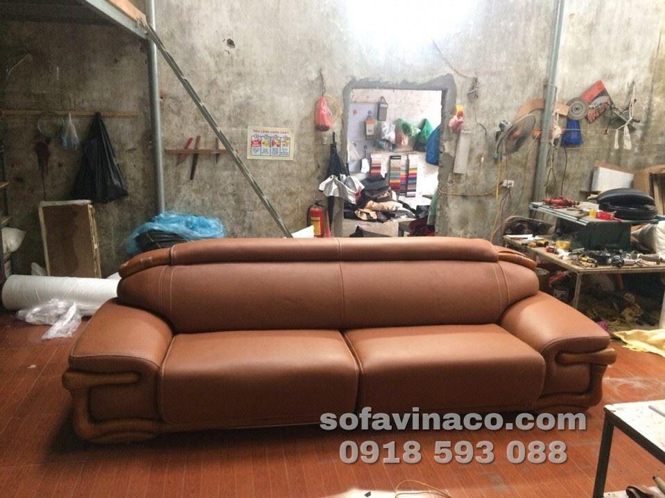 Công trình bọc ghế sofa gia đình tại Hải Dương
