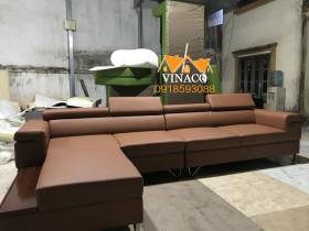 Bộ ghế sofa đóng mới cho anh Đức ở Hà Đông, Hà Nội
