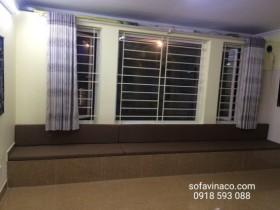 Làm đệm ngồi bậu cửa sổ theo kích thước tại Hà Nội