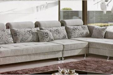 Bọc ghế sofa bằng vải thô hoa văn cao cấp