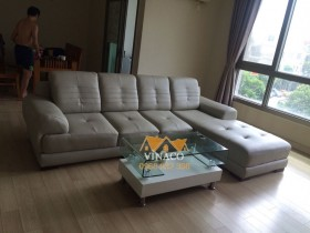 Thay vỏ bọc ghế sofa da nhà anh Dũng Hyundai Hillstate Hà Đông