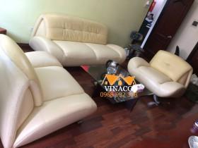 Thay vỏ mặt ghế sofa tại Hoàng Đạo Thúy, Trung Hòa, Cầu Giấy
