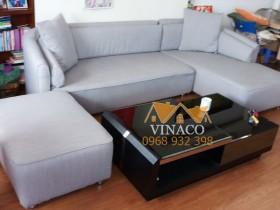 Công trình bọc ghế sofa vải tại chung cư CT3B Nam Cường, Cổ Nhuế