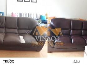 Bọc mặt ghế sofa tại Thái Hà, Đống Đa, Hà Nội