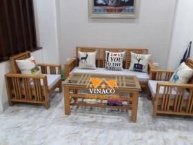 Đệm ghế và bộ gối đặc biệt cho chị Nga ở Trần Điền, Hoàng Mai