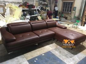 Bộ ghế sofa đóng mới cho anh Hùng ở Golden Field Mỹ Đình