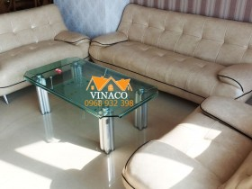 Thay da ghế sofa cho chú Sơn ở Royal City Nguyễn Trãi
