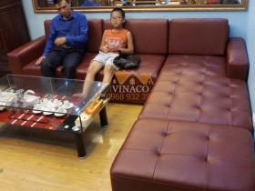 Bọc ghế sofa cho xạ thủ Hoàng Xuân Vinh ở CT6 Phạm Văn Bạch