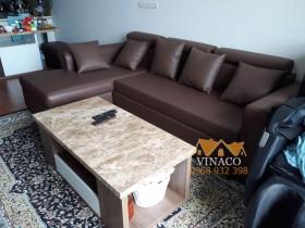 Thay đổi hoàn toàn bộ ghế sofa tại Vimeco 4 Nguyễn Chánh – bọc ghế