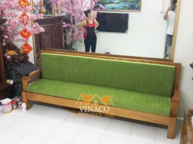 Bộ đệm ghế giường gấp ở khu tập thể Vĩnh Hồ, Thái Thịnh
