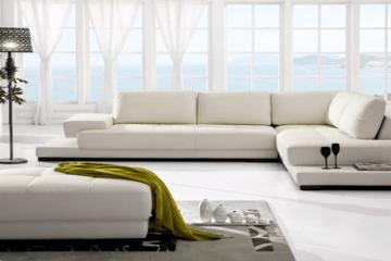 Bọc nệm sofa giúp không gian ngôi nhà trở nên tươi mới