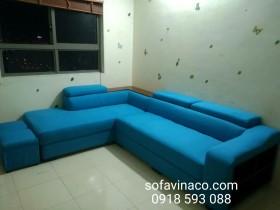 Biến ghế sofa da cũ thành sofa vải nhờ dịch vụ bọc ghế sofa