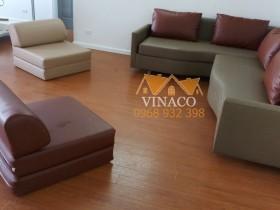 Bọc lại ghế sofa cũ cho cô Thảo chung cư Packexim Tây Hồ