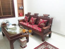 Mẫu vải hoa cao cấp và bộ đệm ghế tại Thái Nguyên
