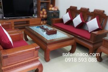 Cần chú ý gì khi chọn mua nệm sofa gỗ?