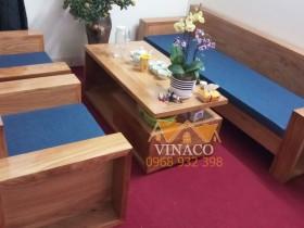 Đệm ghế vải sẽ biến bộ ghế gỗ cứng nhà bạn biến thành sofa salon