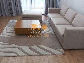 Thay vỏ bọc sofa cũ tại chung cư Dolphin Plaza 28 Trần Bình