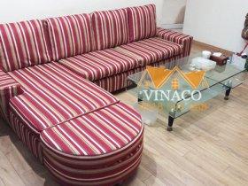 Bọc ghế sofa vải tại chung cư 172 Trần Bình, Mỹ Đình