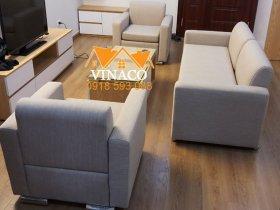 Bọc mới ghế sofa vải ố vàng tại số 219 Trung Kính, Cầu Giấy