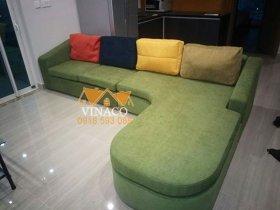 Thay đổi hoàn toàn phong cách bộ ghế sofa ở Ciputra Tây Hồ – Bọc ghế