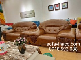 Bọc ghế sofa da chất lượng cao tại Ngọc Lâm Long Biên