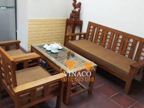 Đệm bông ép cho ghế gỗ tại Xuân Thủy, Cầu Giấy