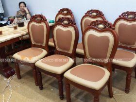 Bọc ghế ăn tại nhà chuyên nghiệp cùng Vinaco tại Giang Xá, Hoài Đức