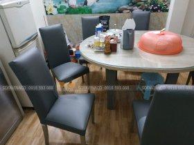 Bọc ghế ăn tại Hoàng Hoa Thám