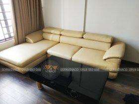 Bọc lại ghế sofa rách ra tại Tòa 21B6 Green Star, 234 Phạm Văn Đồng