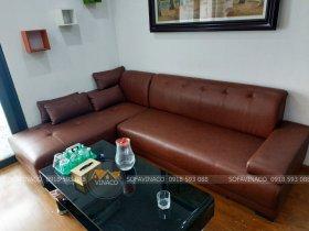Bọc mặt ghế sofa mèo cào tại Dương Đình Nghệ, Cầu Giấy