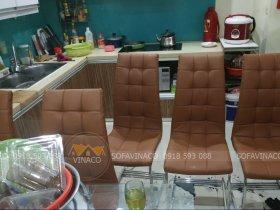 Bọc ghế ăn chân quỳ tại Khương Thượng, Thanh Xuân