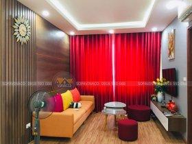 Bọc ghế sofa theo phong thủy cho chị Dung 43 Phạm Văn Đồng