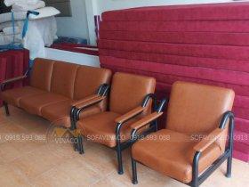 Bọc lại bộ ghế sofa vải ở Tòa A3 An Bình City 232 Phạm Văn Đồng