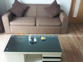 Bọc lại bộ ghế sofa vải cũ cho chị Dung Đào Tấn, Ba Đình