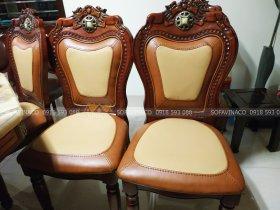 Bọc lại ghế ăn siêu bẩn ở Long Biên, bọc ghế ăn giá rẻ Hà Nội