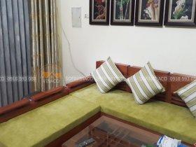 Tăng thêm sức sống phòng khách với bộ đệm ghế màu xanh cốm