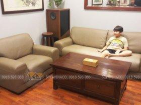Bọc lại da ghế sofa tại huyện Đông Anh