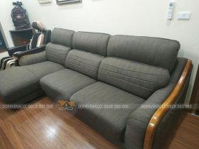 Biến sofa da thành sofa vải với dịch vụ bọc lại ghế sofa của Vinaco